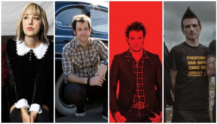 The Muffs, No Use For A Name, The Living End, Anti-Flag