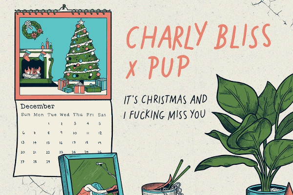 Charly Bliss and Pup release Christmas song