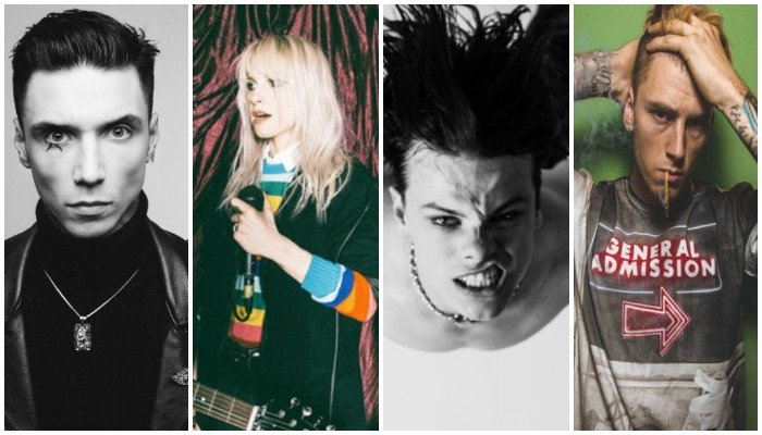 Andy Black, Paramore, YUNGBLUD, Machine Gun Kelly
