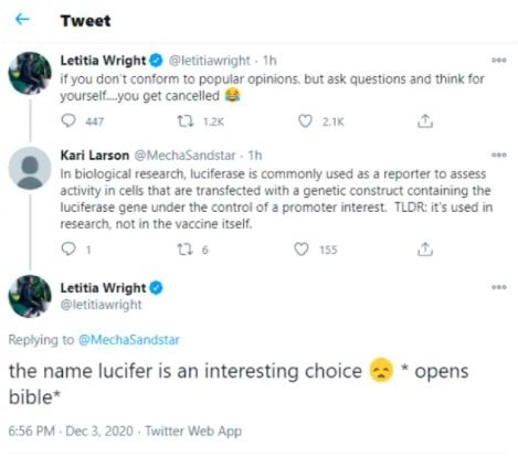 Letitia Wright Tweet 2-min