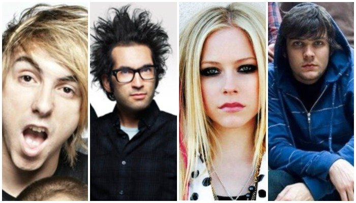 acoustic 2000s songs, all time low, motion city soundtrack, avril lavigne, boys like girls