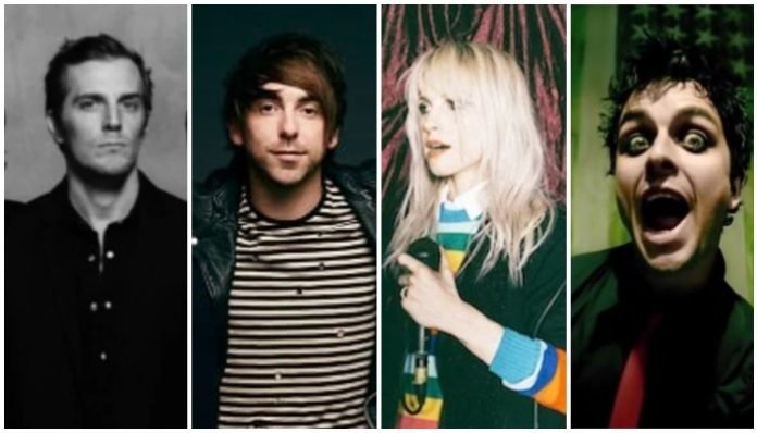 album demos, the maine, all time low, paramore, green day