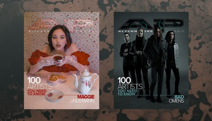 Maggie Lindemann Bad Omens 100 artists you need to know issue