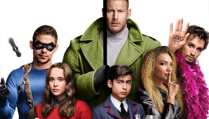 the umbrella academy poster characters