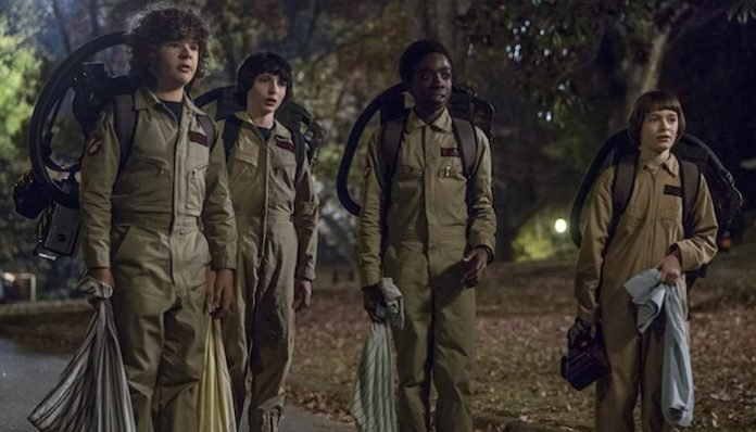 stranger things 2 ghostbusters costumes