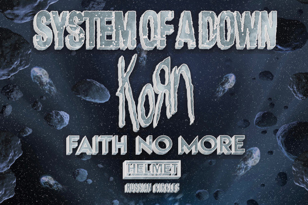 System of A Down announce rescheduled California shows