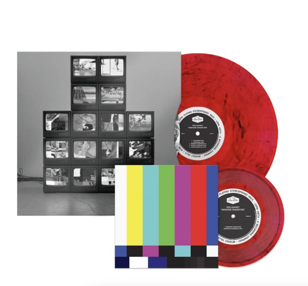 Rise Against limited edition vinyl-min