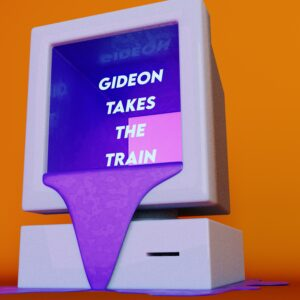 Ace City Racers Gideon Takes The Train single art